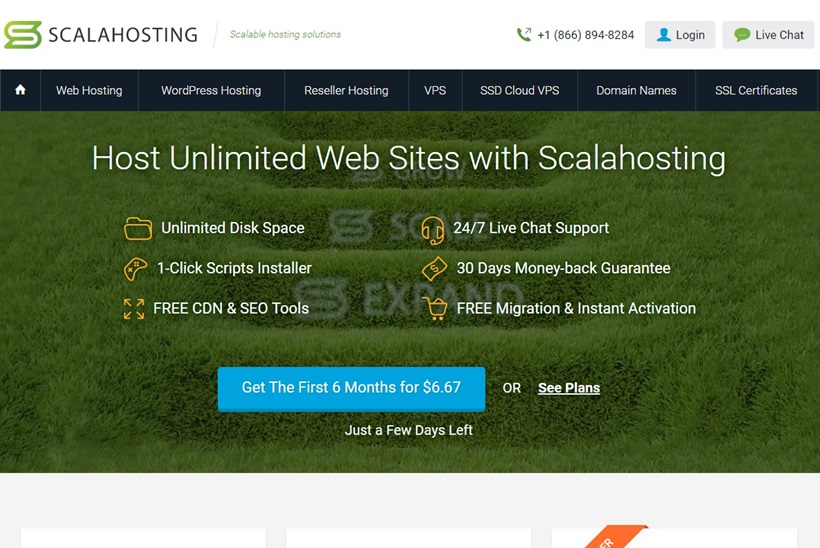 Web Hosting Solutions Provider Scala Hosting Launches WordPress Hosting Options