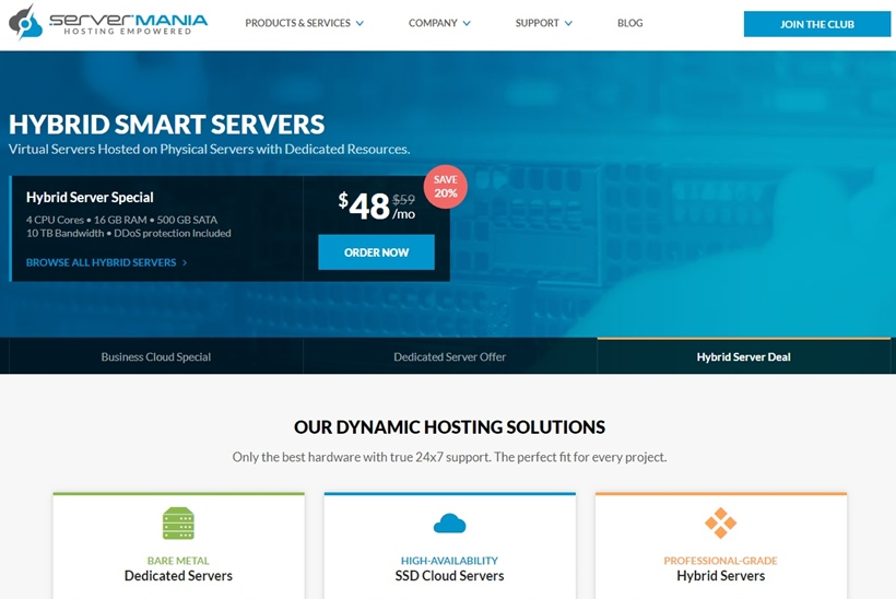 Canadian Provider ServerMania Announces Launch of Cloud and Dedicated Server Managed Services