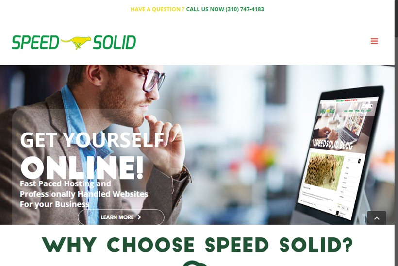 New Web Hosting Company Speed Solid Offers WordPress Hosting Options