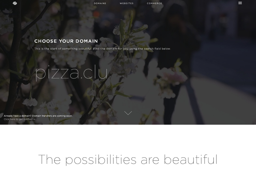 Web Host and Website Builder Provider Squarespace Launches Domain Registration Service