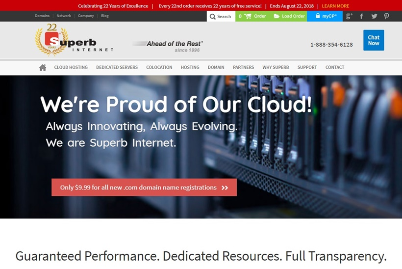 IaaS Provider Superb Internet Celebrates Major Milestone