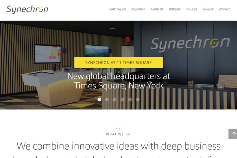 Digital, Business Consulting and Technology Services Provider Synechron Joins Microsoft Azure Blockchain Council