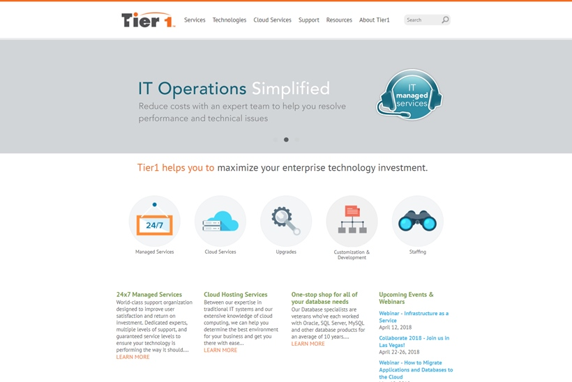 Enterprise Technology Consulting and Services Company Tier1 Meets Important Milestone