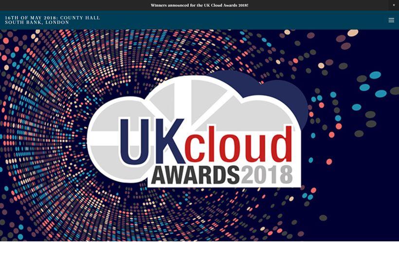2018 UK Cloud Awards Winners Announced