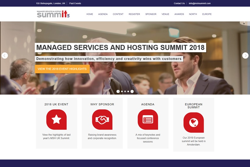 Ninth Annual 'UK Managed Services & Hosting Summit' Takes Place September 18, 2019