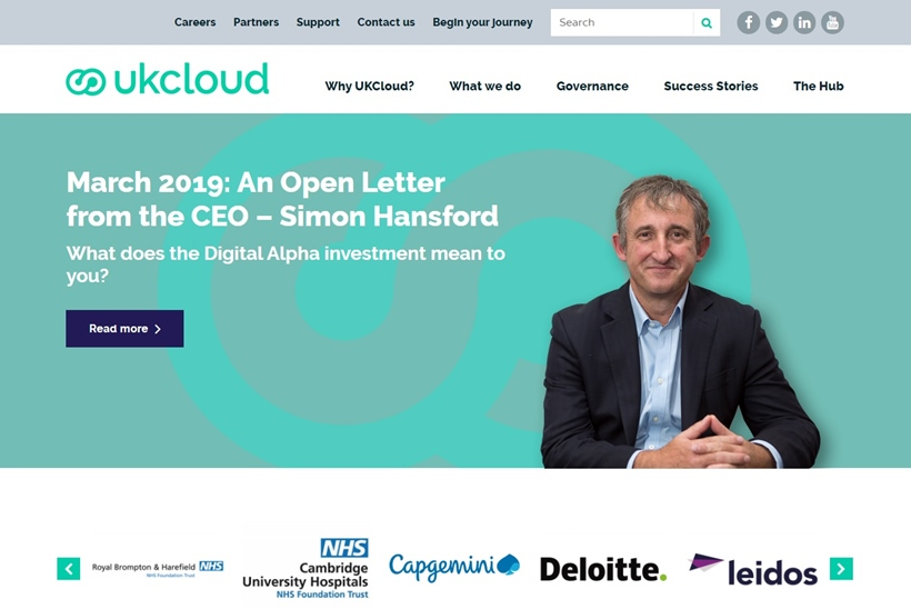 British Cloud Provider UKCloud Receives Major Investment