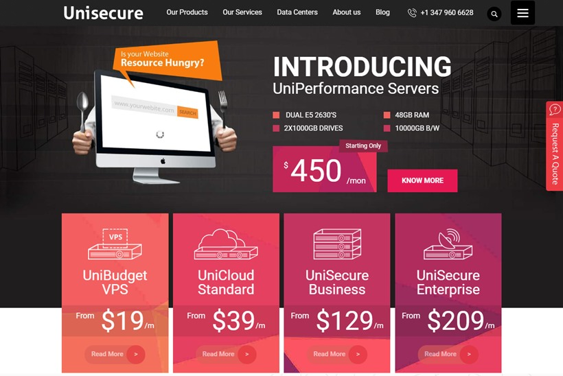 Unisecure Data Centers Announces Launch of Enhanced VPS and Cloud Computing Options