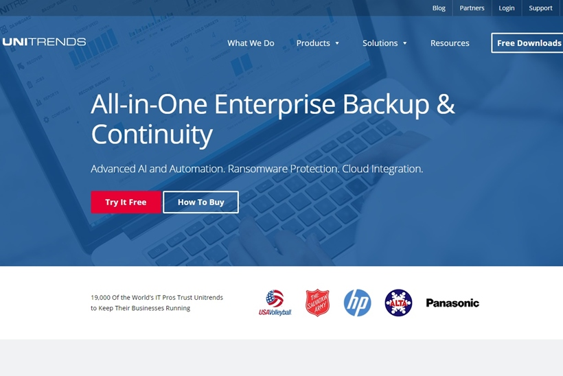 Enterprise Backup and Continuity Solutions Provider Unitrends Extends Partnership with Backup and Recovery Apps Provider Spanning