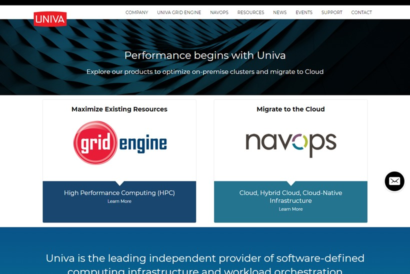Workload Management and Optimization Solutions Provider Univa Partners with SaaS Provider UberCloud