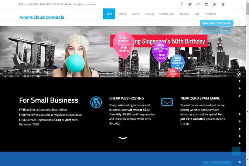 Web Hosting News - Web Host Vastspace net Partners with IT
