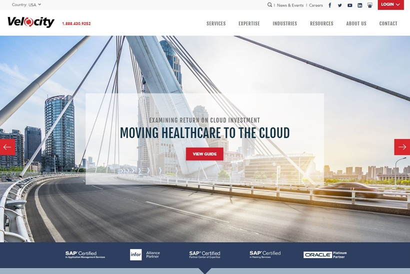 Cloud Managed Services Provider Velocity Enjoys Substantial Growth