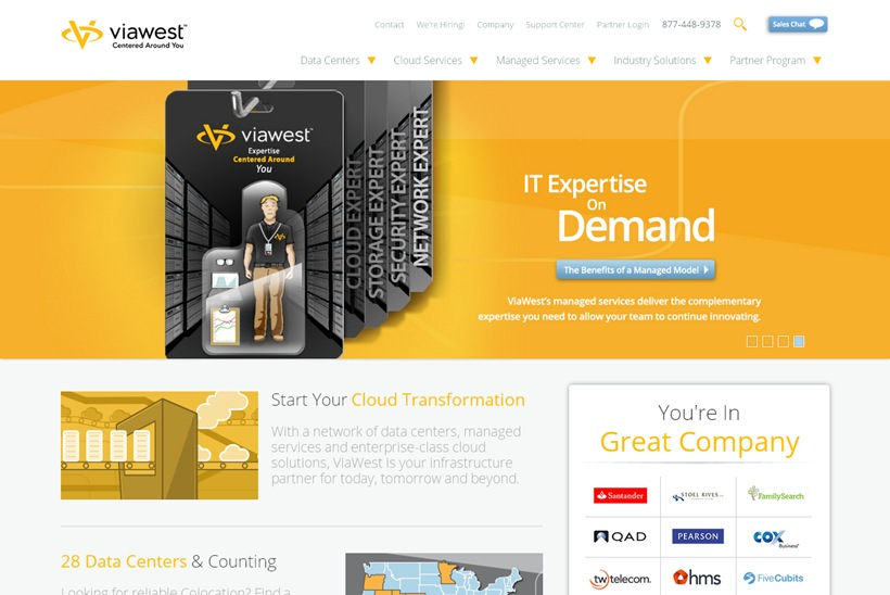 Hybrid IT Solutions Provider ViaWest Approved for State of Nevada Data Center Abatement Program