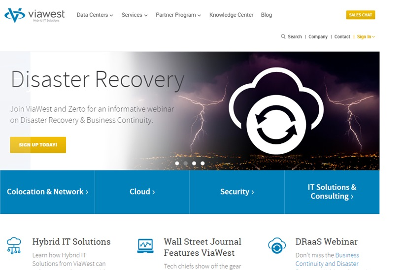 Hybrid Solutions Company ViaWest to Acquire IT Infrastructure Solutions Provider Peak 10