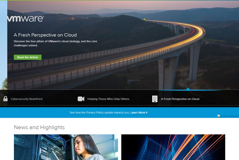 IT and Telecom Provider Swisscom Builds Enterprise Service Cloud on VMware Cloud Infrastructure