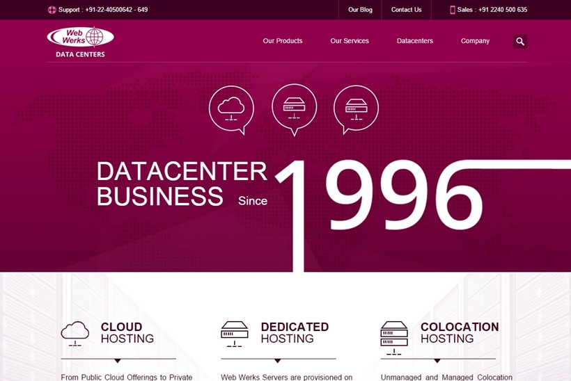 Indian Provider Web Werks Data Centers Announces Launch of 'Resell Your Own Cloud'