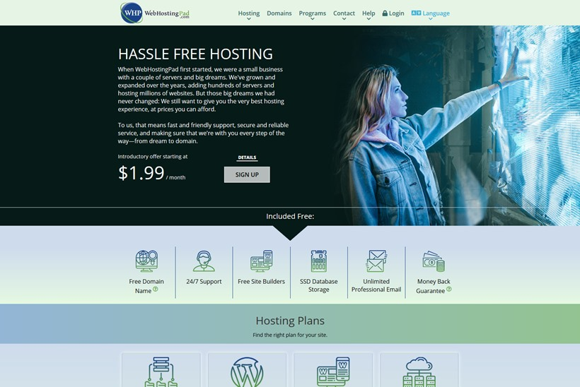 Web Hosting News - Web Host WebHostingPad Launches Niche Plan