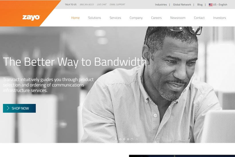 Infrastructure Services Provider Zayo to Acquire Telecommunications Provider Spread Networks