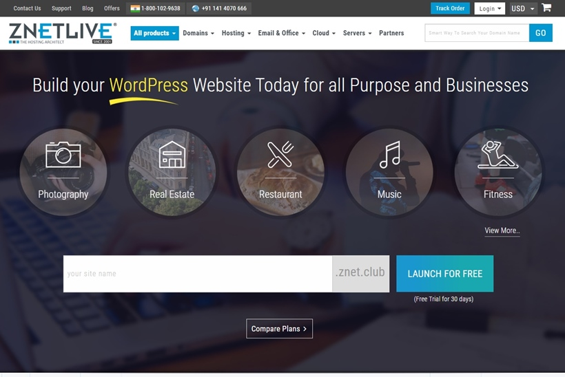 Web Hosting and Cloud Services Provider ZNetLive Launches New App