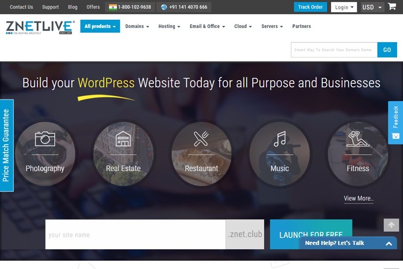 Indian Web Hosting and Cloud Provider ZNetLive Announces SaaS Marketplace Software Platform Launch