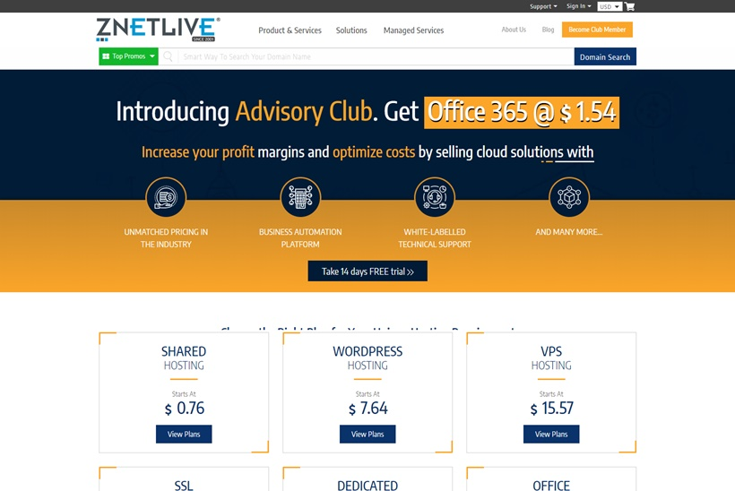 Indian Web Hosting and Cloud Services Provider ZNetLive Announces Launch of New Cloud Servers