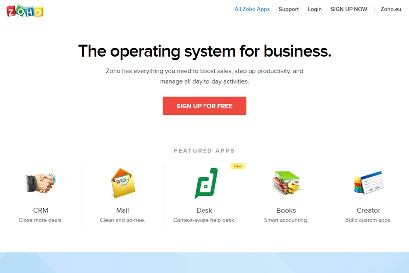 Cloud-based 'Business Operating System' Provider Zoho Announces Launch of Zoho Checkout