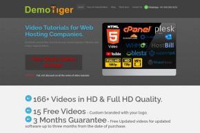 DemoTiger released Video tutorials on Plesk