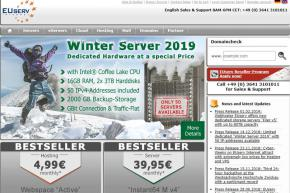 Web Host EUserv Offers New Dedicated Storage Servers