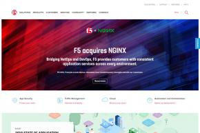 Computer Networking Company F5 Networks to Acquire Application Platform Provider NGINX