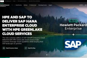 Hewlett Packard Enterprise and UK Government Sign MoU