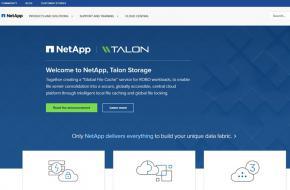 Hybrid Cloud Provider NetApp Acquires Cloud Storage Company Talon
