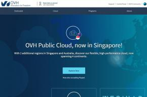 French Cloud Provider OVH Announces Launch of Public Cloud in Singapore and Australia