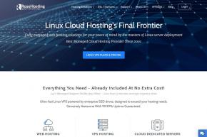 Web Host RoseHosting Announces Launch of RoseHosting Cloud