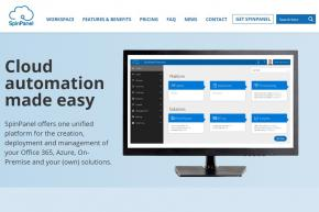 Microsoft Partner SpinPanel and Cloud Management and Automation Platform Provider Nubo Service Automation Merge