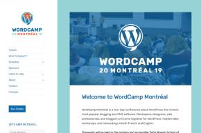 WordCamp Montréal Takes Place August 10-11, 2019