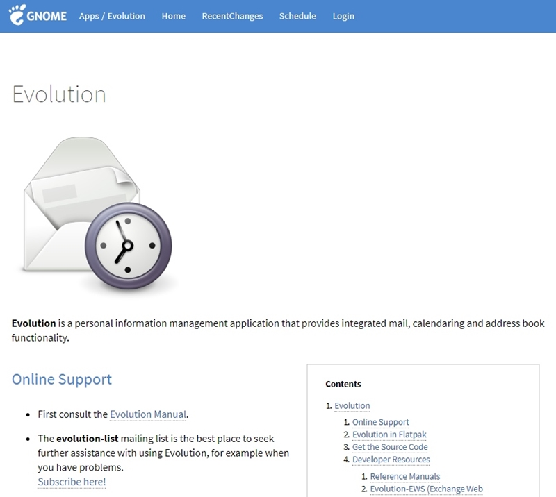 Ohostme on feedspot rss feed evolution has clearly been influenced by outlook it is a personal information management app with integrated email address book and calendar sound fandeluxe Image collections