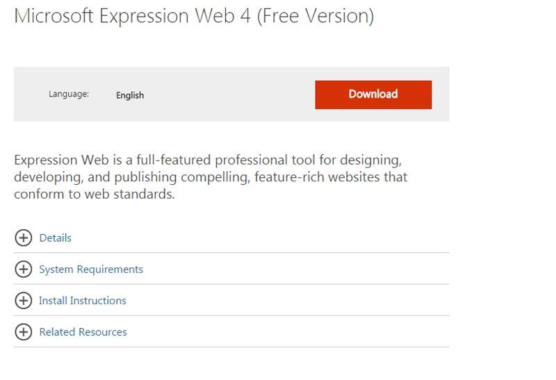 Microsofts Expression Web 40