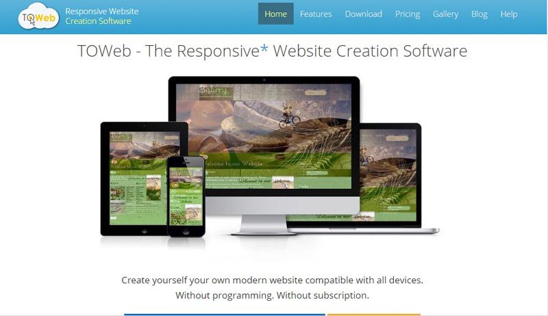 web seiten programme